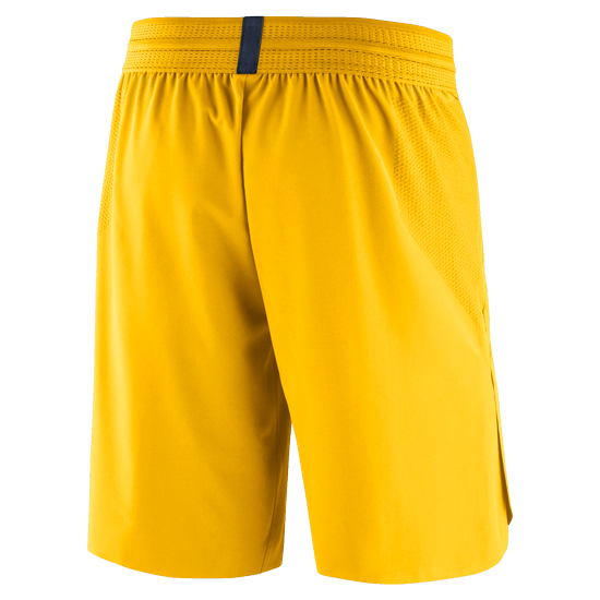 8928f3422dc Jordan University of Michigan Football Yellow 23 Tech Dry Knit Shorts