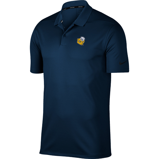 Nike Golf University of Michigan Navy College Vault Wolverine Victory Polo