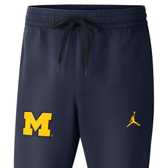 66e32f8f145c Jordan University of Michigan Basketball Navy Showtime Pant