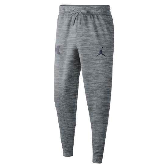 Jordan University of Michigan Basketball Gray Spotlight Warm-Up Pant
