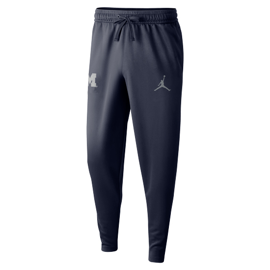 Jordan University of Michigan Basketball Navy Spotlight Warm-Up Pant