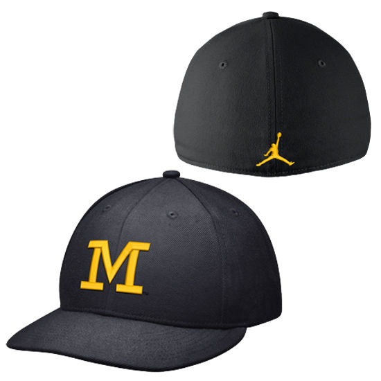 Jordan University of Michigan Football Head Coach's Fitted Hat