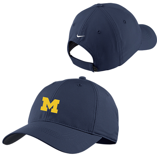 sale retailer 04a2f 7b1be ... germany nike golf university of michigan navy dri fit slouch hat 18bcd  afa49