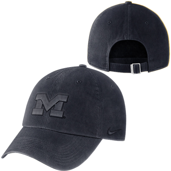 best website 15d73 52eb4 Nike University of Michigan Navy Pigment Washed Heritage86 Unstructured Hat.  Product Thumbnail Product Thumbnail Product Thumbnail