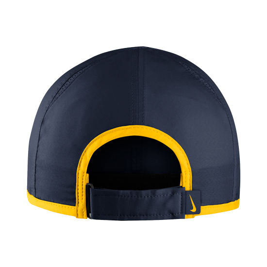 b6abff5835a046 Nike University of Michigan Navy Dri-FIT Featherlight Unstructured Hat