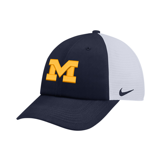 Nike University of Michigan Heritage86 Dri-FIT Meshback Unstructured Hat bd750f3eabe5