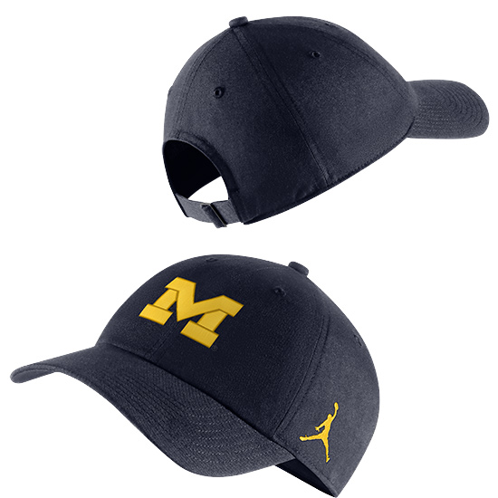 Jordan University of Michigan Navy Heritage86 Slouch Hat