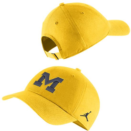 Jordan University of Michigan Maize Heritage86 Slouch Hat
