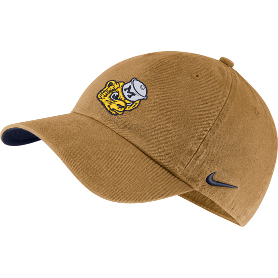 Nike University of Michigan Wheat Heritage86 College Vault Wolverine Slouch Hat