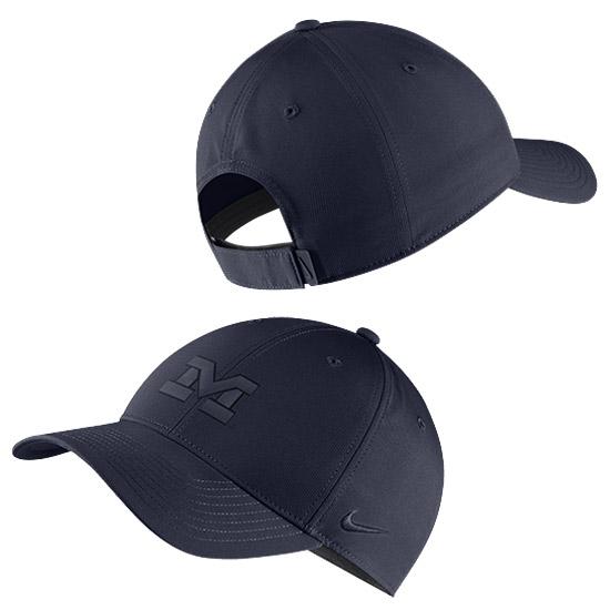 Nike University of Michigan Navy Two-Tone Legacy91 Dri-FIT Tech Hat