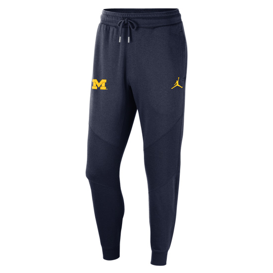 Jordan University of Michigan Football Navy Travel Pant