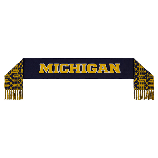 Jordan University of Michigan Football Capsule Collection Knit Scarf