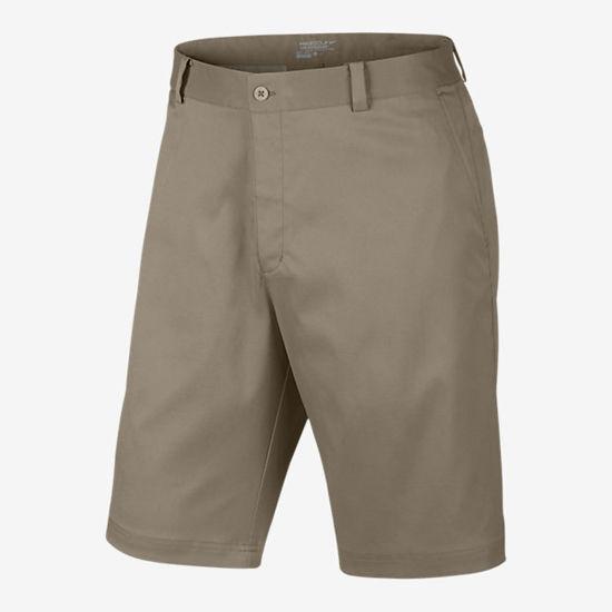 Nike Golf Khaki Flat Front Golf Shorts