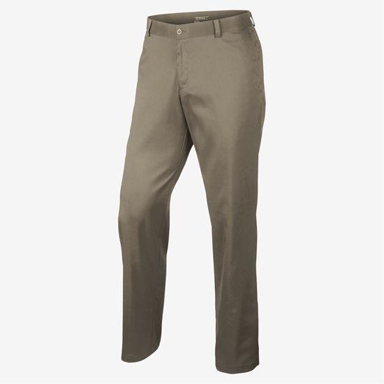 Nike Golf Khaki Flat Front Golf Pants