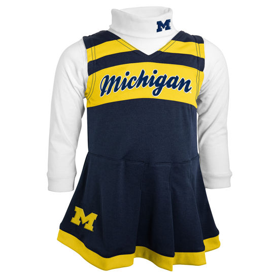 Outerstuff University of Michigan Youth Cheerleader Outfit