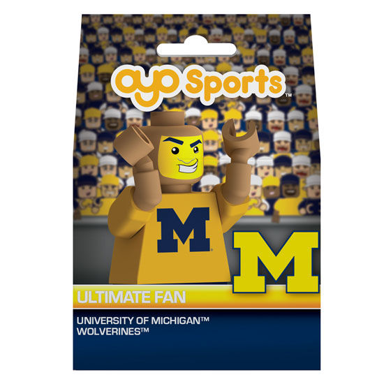 Oyo University of Michigan Football Ultimate Fan Mini Figure