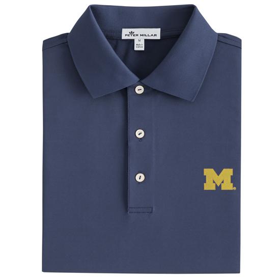 University of Michigan Block M Polo Dress