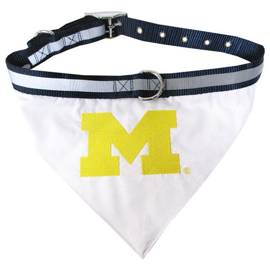 University of Michigan Gear - Michigan Pet Collar and Bandanna