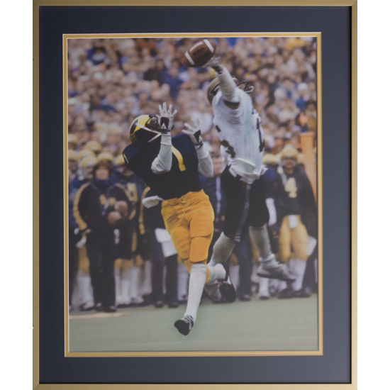 University of Michigan Football Framed Picture: Anthony Carter Catch