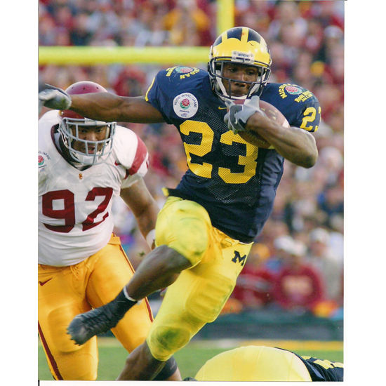 University of Michigan Football Chris Perry (v. USC) 8x10 Glossy Photo