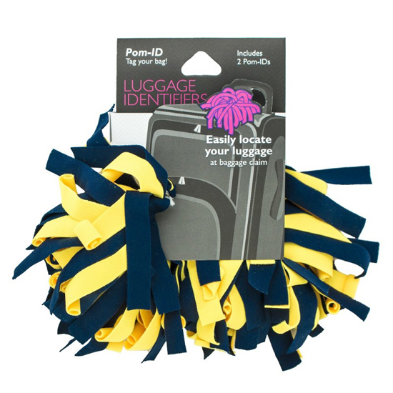 Pomchies University of Michigan Pom ID Luggage Spotters