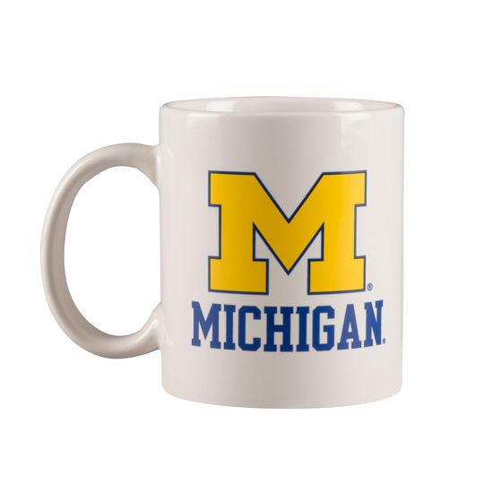 RFSJ University of Michigan White Coffee Mug