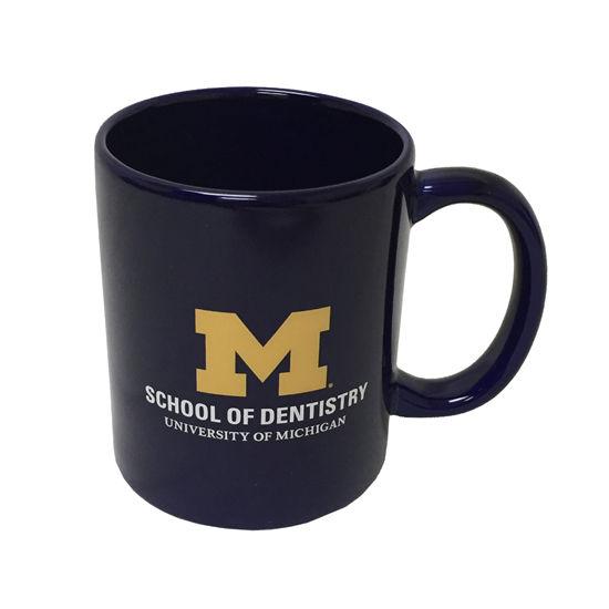 RFSJ University of Michigan School of Dentistry Navy Coffee Mug