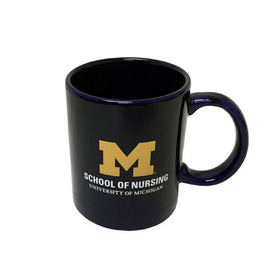 RFSJ University of Michigan School of Nursing Navy Coffee Mug