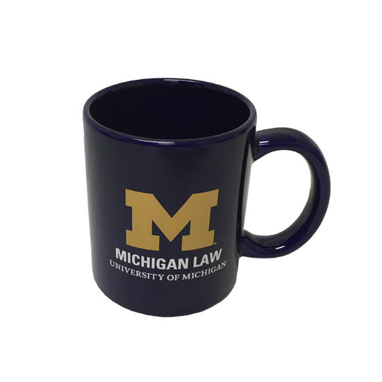 RFSJ University of Michigan Law School Navy Coffee Mug