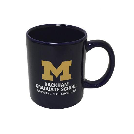 RFSJ University of Michigan Rackham Graduate School Navy Coffee Mug