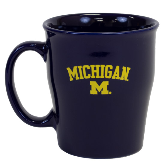RFSJ University of Michigan Navy Mary Coffee Mug