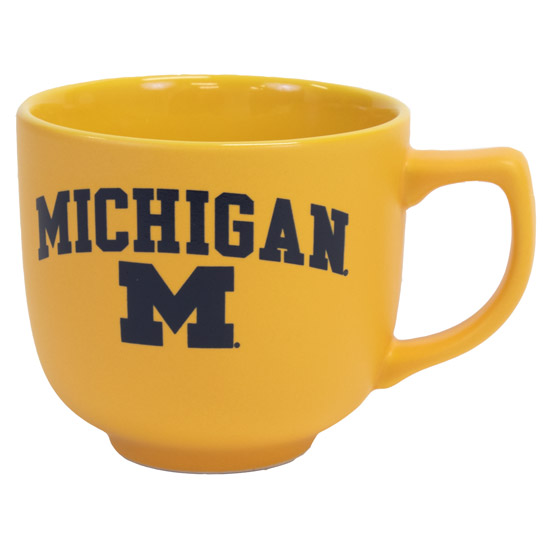 RFSJ University of Michigan Yellow Martin Coffee Mug