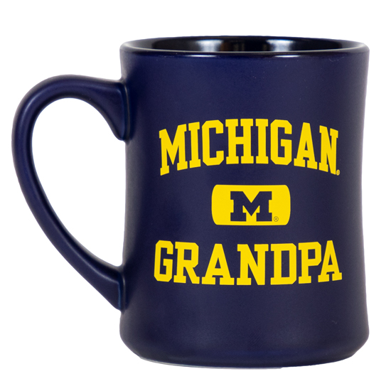 RFSJ University of Michigan Grandpa Navy Coffee Mug