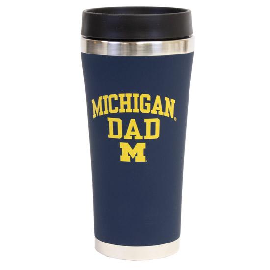 RFSJ University of Michigan Dad JV Travel Coffee Mug