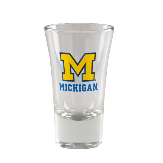 RFSJ University of Michigan Mini Pilsner Shot Glass