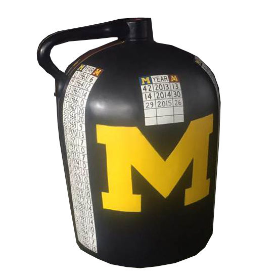 Rivalry Trophy University of Michigan Replica Full Size Little Brown Jug