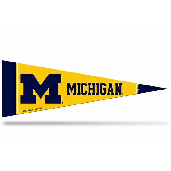 Rico University of Michigan Mini Pennant 8- Pack