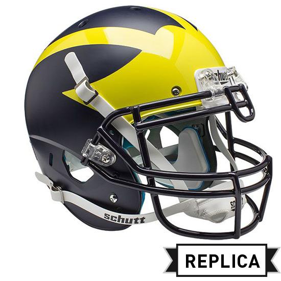 Schutt University of Michigan Football Full-Size Replica Matte Helmet