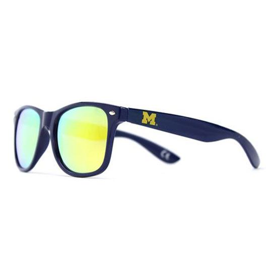 4017c49d3ade Society43 University of Michigan Shady Peeps Navy Sunglasses