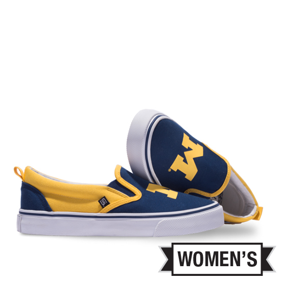 Skicks University of Michigan Women's Slip-On Shoes