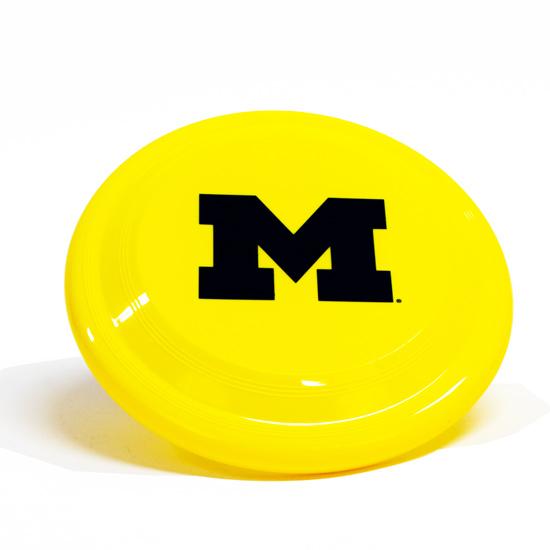 Spirit Products University of Michigan Yellow 9'' Frisbee
