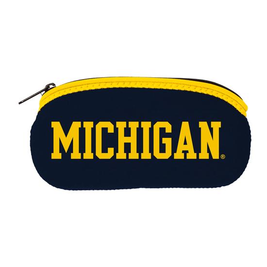 Spirit Products University of Michigan Neoprene Eyeglass Holder/ Case