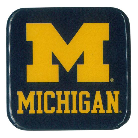 Spirit Products University of Michigan Square Refrigerator Magnet