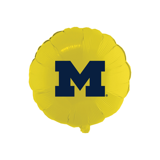 Spirit Products University of Michigan 18'' Microfoil Round Balloon