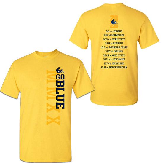 University of Michigan Football 2020 Season Tee<br><b>[PRE-ORDER]</b>