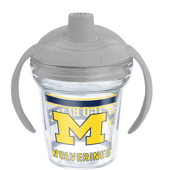 Tervis University of Michigan My First Tervis Handled Sippy Cup with Lid