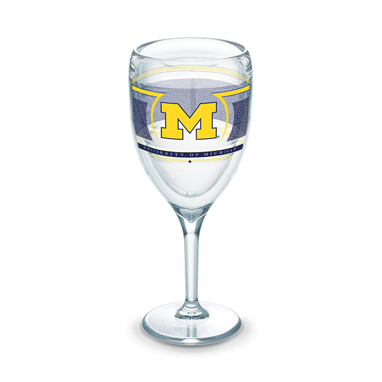 Tervis University of Michigan Wine Glass Reserve Tumbler