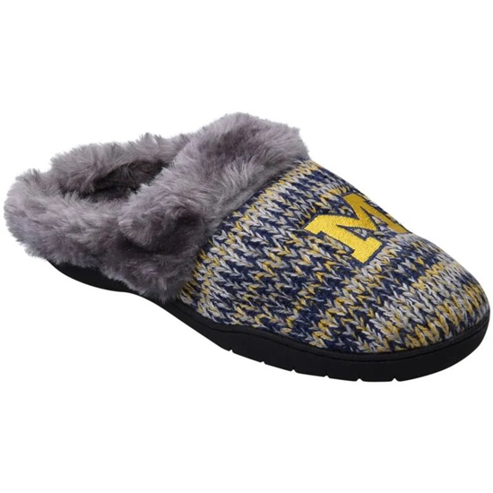 Forever Collectibles University of Michigan Women's Peak Slide Slippers