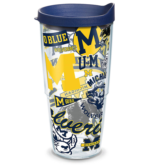 c785cb1269c Tervis University of Michigan 24 oz College Vault All-Over Wrap Tumbler  with Lid. Product Thumbnail
