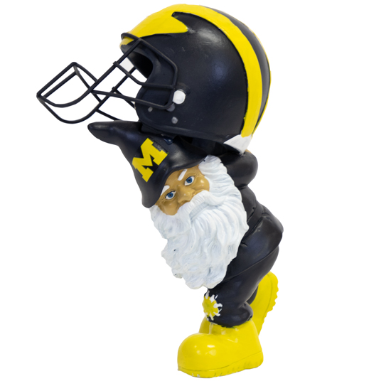 Forever Collectibles University of Michigan Helmet Hauling Garden Gnome